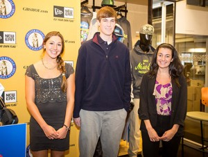 New Era 2013 Student-Athlete Scholarship recipients