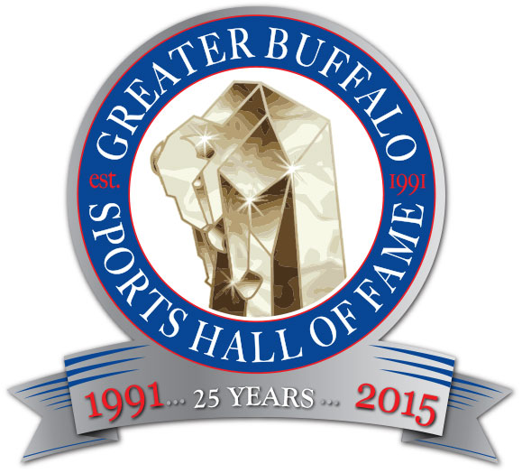 Greater Buffalo Sports Hall of Fame 25th Logo